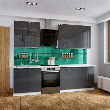 Zestaw mebli kuchennych FLINT AKRYL CLASSEN