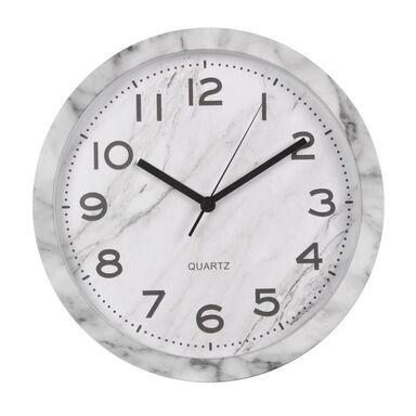 Zegar ścienny CARRARA śr. 30 cm biały
