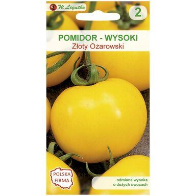Nasiona warzyw ZŁOTY OŻAROWSKI Pomidor gruntowy wysoki W. LEGUTKO
