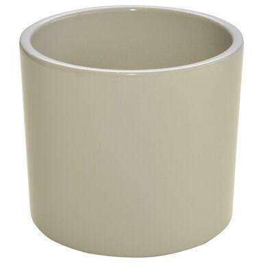 Osłonka ceramiczna 17 cm beżowa WALEC