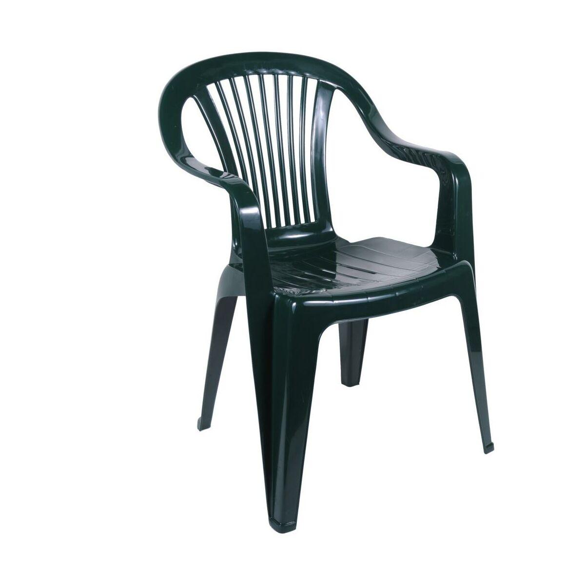 Krzeslo Ogrodowe Beryl Plastikowe Zielone Krzesla Fotele Lawki Ogrodowe W Atrakcyjnej Cenie W Sklepach Leroy Merlin