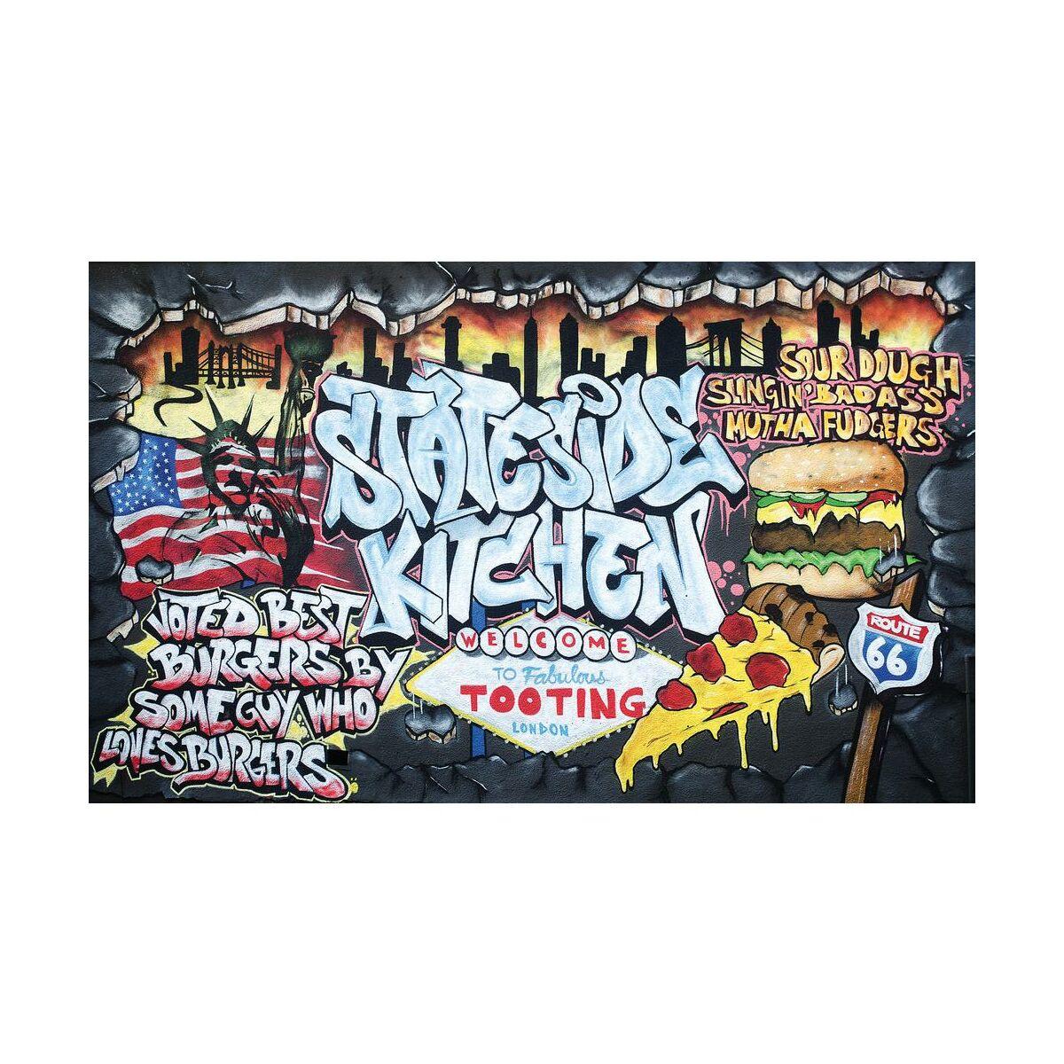 Fototapeta flizelinowa graffiti ii fototapety w atrakcyjnej cenie w sklepach leroy merlin - Graffiti leroy merlin behang ...