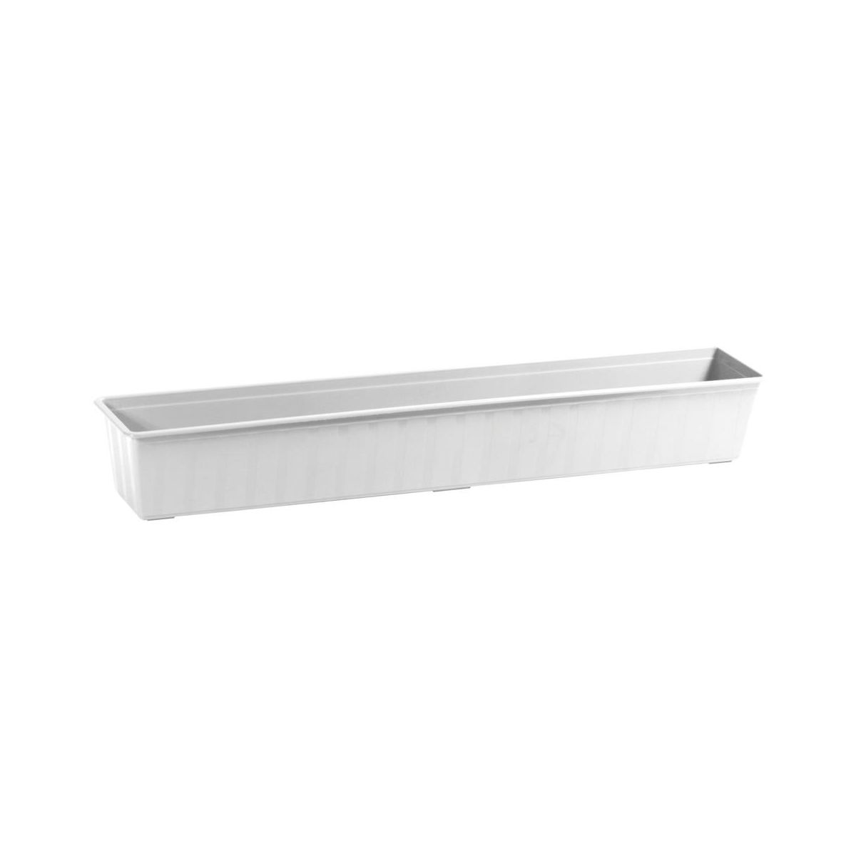 Skrzynka Balkonowa 100 X 18 Cm Plastikowa Biała Agro Is1000 S449 Prosperplast