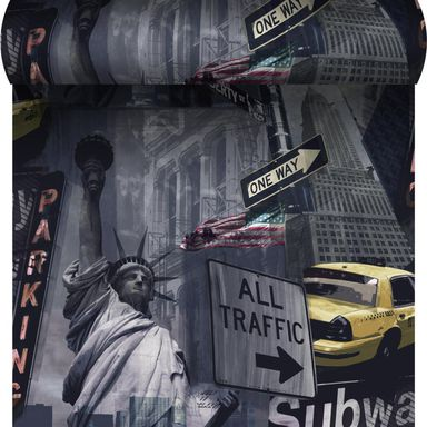 Tapeta NEW YORK TRAFFIC