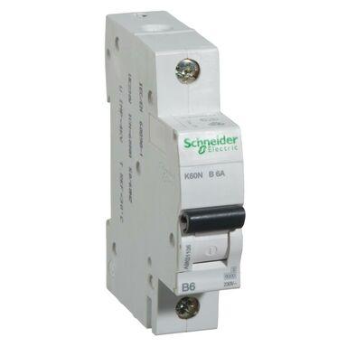 Wyłącznik K60N - B6 - 1 NADPRĄDOWY SCHNEIDER ELECTRIC