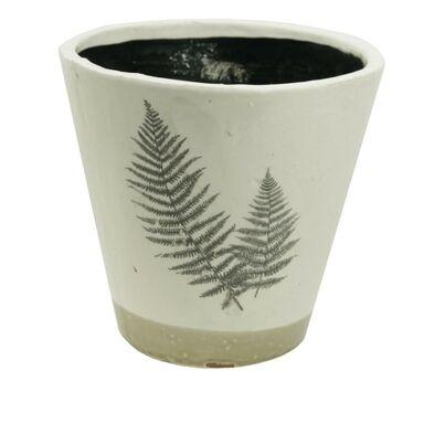 Osłonka ceramiczna 11 cm beżowa 985227 KAEMINGK
