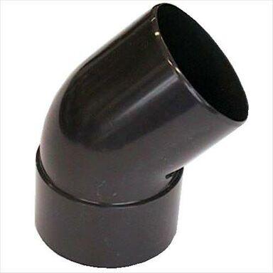 Kolanko rynnowe 50 mm/45° Brązowe SCALA PLASTICS