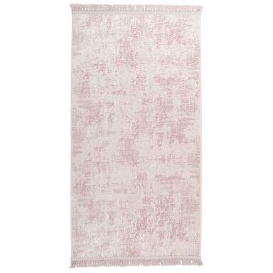 Dywan Prestige różowy 80 x 150 cm z frędzlami