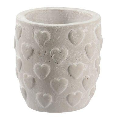 Osłonka ceramiczna 11 x 11 cm szara 985295 KAEMINGK