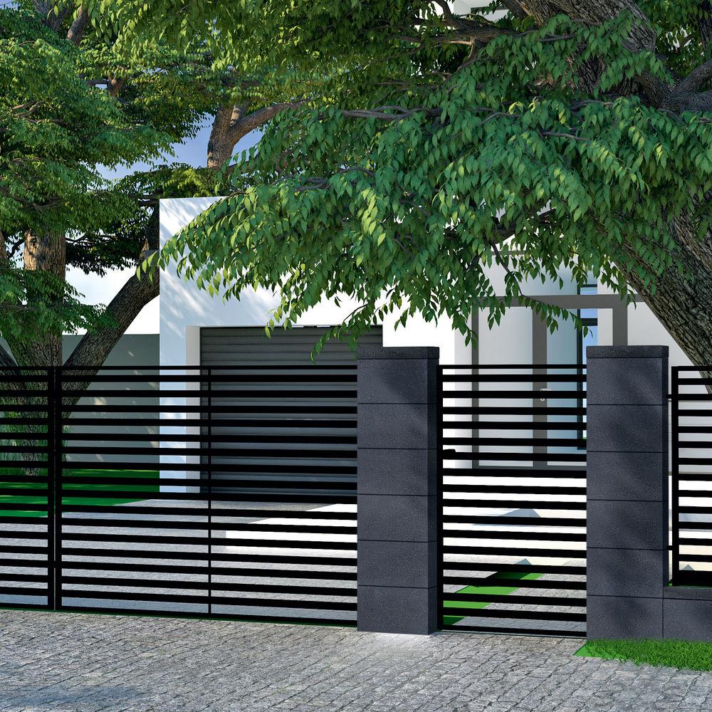 Ogrodzenia Betonowe Podmurówki łupane Typ Produktu Pustak