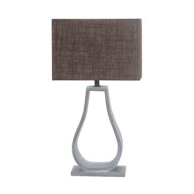 Lampa stołowa FEMO szaro-brązowa E14 CANDELLUX