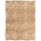 Dywan mata słomiana 90 x 120 cm z trawy morskiej