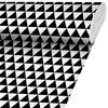 Tkanina na mb TRI czarno-biała szer. 140 cm INSPIRE