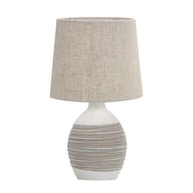 Lampa stołowa AMBON beżowa E14 CANDELLUX