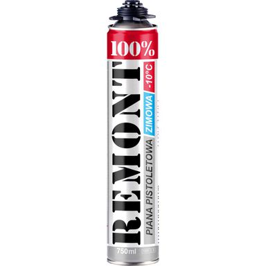Pianka poliuretanowa pistoletowa 100% REMONT Zimowa 750 ml PENOSIL