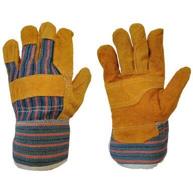 Rękawice robocze r. XL / 10 skóra z dwoiny