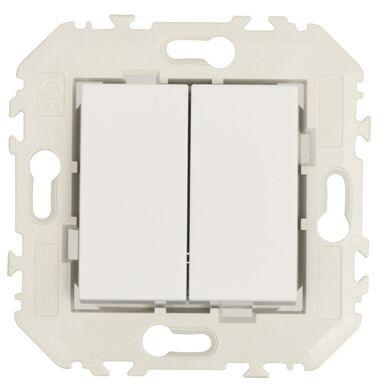 Włącznik podwójny QUADRO Biały EFAPEL