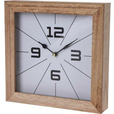 Zegar ścienny kwadratowy 24 x 24 cm mix kolorów
