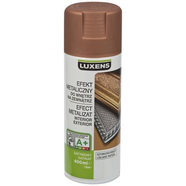Spray METALICZNY 0.4 l Miedziany LUXENS