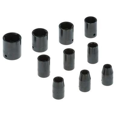 Zestaw kluczy nasadowych 10 - 27 mm 10839255 10 szt. DEXTER