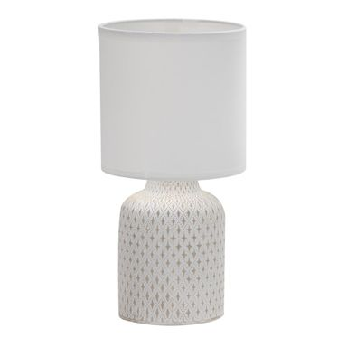 Lampa stołowa INER biała E14 CANDELLUX