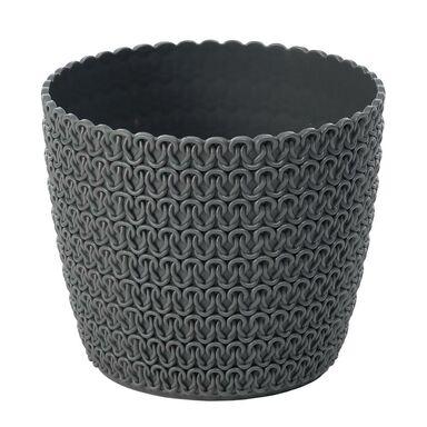 Osłonka plastikowa 16 cm antracytowa MAGNOLIA