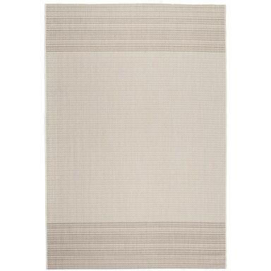 Dywan zewnętrzny PATIO biało-beżowy 120 x 170 cm
