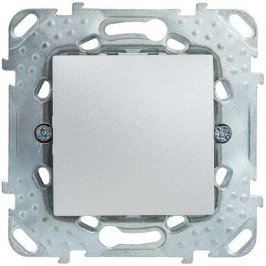 Włącznik krzyżowy UNICA  Srebrny aluminowy  SCHNEIDER