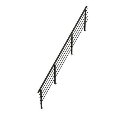 Balustrada do schodów ALASKA Czarna DOLLE