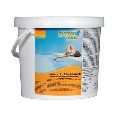 Produkt do pielęgnacji wody basenowej CHEMOCHLOR T 3 kg PLANET POOL