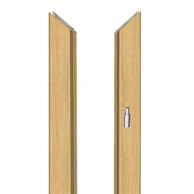 Ościeżnica regulowana do skrzydeł bezprzylgowych 60 Prawa Dąb piaskowy 140 - 180 mm Artens