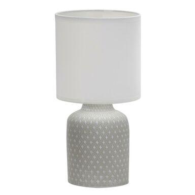 Lampa stołowa INER szara E14 CANDELLUX