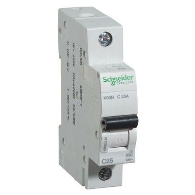 Wyłącznik nadprądowy K60N - C25 - 1 SCHNEIDER ELECTRIC