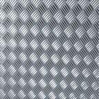 Okleina BLACHA RYFLOWA srebrna 45 x 150 cm imitująca metal
