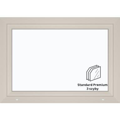 Okno PCV 3-szybowe O6 Białe 1165 x 835 mm