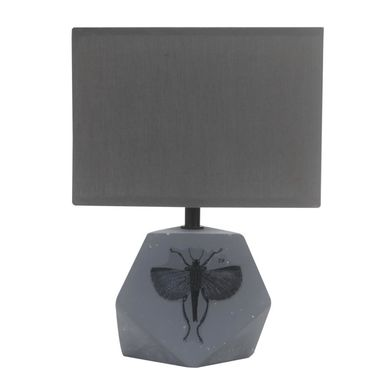 Lampa stołowa ANIMI szara E14 CANDELLUX