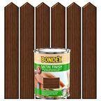 Lakierobejca do drewna SATIN FINISH 0.75 l  Orzech włoski BONDEX