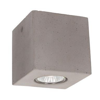 Oprawa stropowa natynkowa CONCRETEDREAM betonowa kwadratowa GU10 SPOT-LIGHT