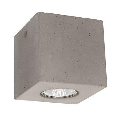 Oprawa stropowa natynkowa CONCRETEDREAM betonowe kwadratowe GU10 SPOT-LIGHT