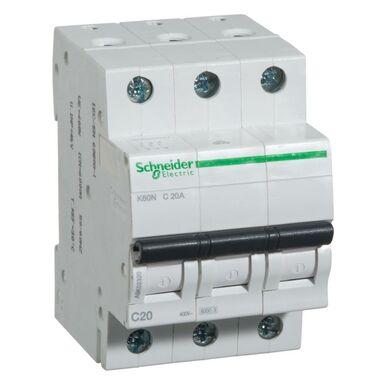 Wyłącznik nadprądowy K60N - C20 - 3 20 A SCHNEIDER ELECTRIC