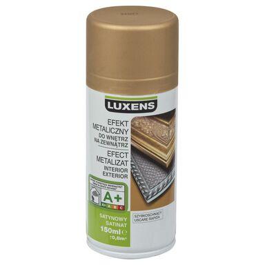 Spray METALICZNY 0.15 l Złoty LUXENS