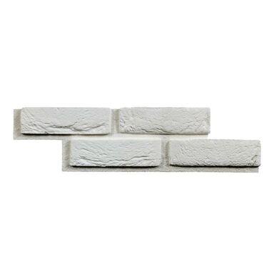 Kamień dekoracyjny z gotową fugą MURRO BIANCO 55 x 14 cm DECORECO