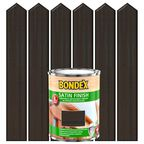 Lakierobejca do drewna SATIN FINISH 0.75 l  Palisander BONDEX