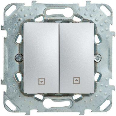 Włącznik żaluzjowy UNICA  Srebrny aluminowy  SCHNEIDER