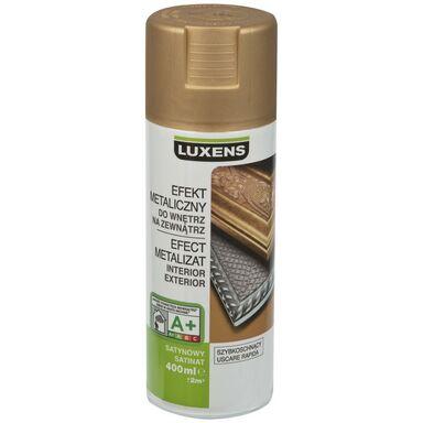 Spray METALICZNY Złoty 0,4 l  LUXENS