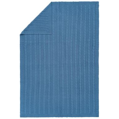 Koc Milan niebieski 130 x 180 cm