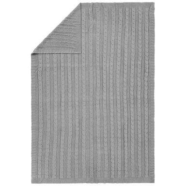 Koc MILAN szary 130 x 180 cm