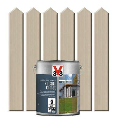 Lazura do drewna POLSKI KLIMAT WSPÓŁCZESNA 0.75 l  Odymiony dąb V33