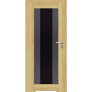 Skrzydło drzwiowe bezprzylgowe z podcięciem wentylacyjnym Kendo Dąb piaskowy 80 Lewe Artens