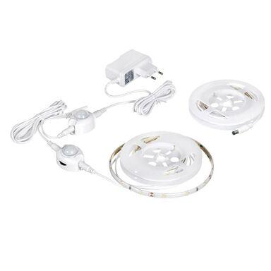 Taśma LED AJE-LED STRIPE SENSOR 2 z zasilaczem, czujnikiem ruchu i zmierzchu 2 x 1.2 m Neutralna biel ACTIVEJET